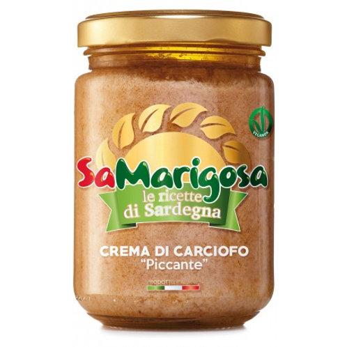 Crema di carciofo piccante - 130 gr.