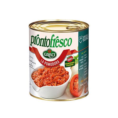 Sauce tomate cuisinée aux légumes -830 gr.