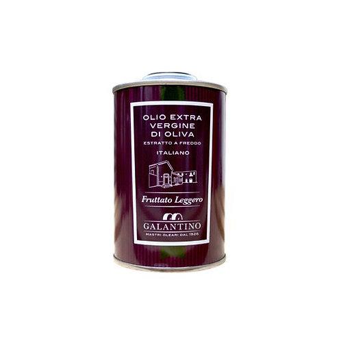 "Huile d'olive extra vierge ""Léger"" en tin - 250 ml"
