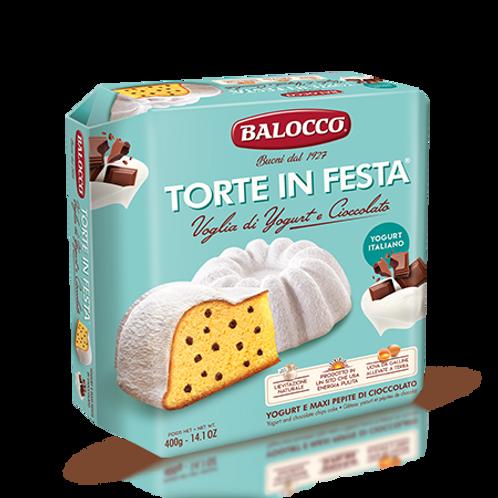 Torte in festa Voglia di Yogurt e Cioccolato - 400 gr