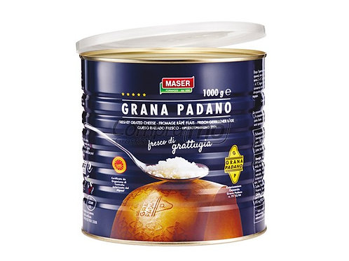 Grana Padano grattugiato 1 kg.