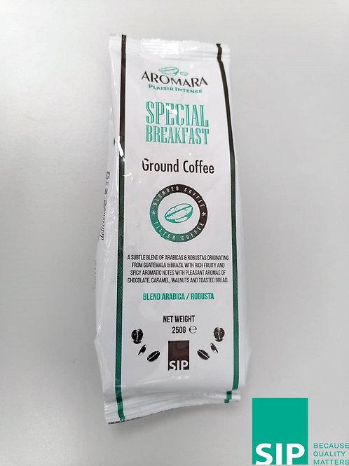 """Caffé  """"Aromara ground special breakfast"""" - 250 gr."""