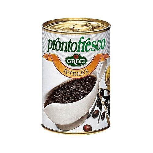 Crème à base d'olives noires - 400 gr.