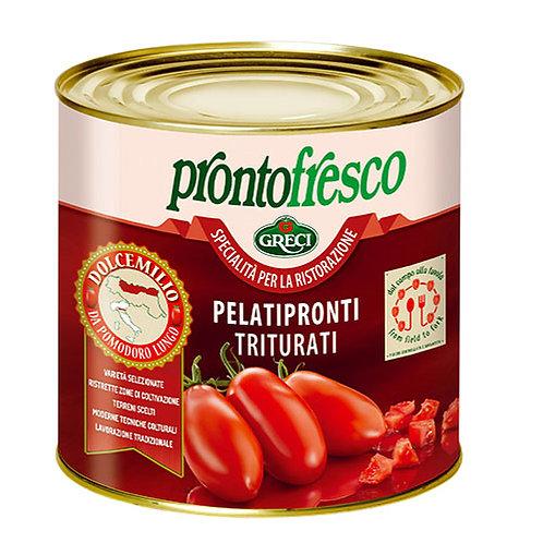 Tomates pelées en purée  Dolce Emilio - 2500 gr.