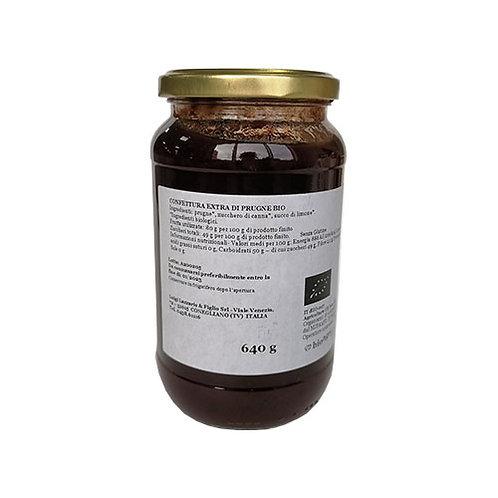 "Confiture Extra Prune Bio ""Lazzaris"" - 640 gr."