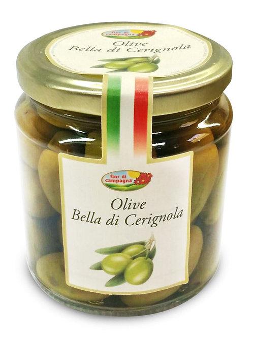 "Olive Bella Cerignola in salamoia ""Fior di campagna"" - 280 gr."