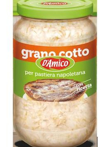 Grano Cotto per pastiera - 580 gr.