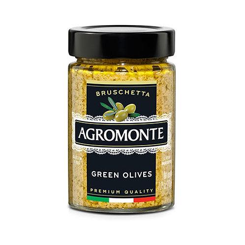 """Bruschetta olives vertes """"Agromonte"""" - 100gr"""