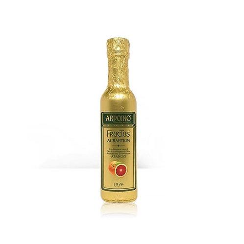 Huile d'olive extra vierge FRUCTUS aromatisée à l'Orange. Ardoino - 250 ml.