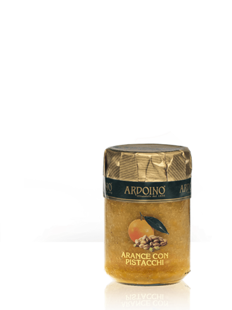 """Composta di arance e pistacchi """"Ardoino"""" - 346 gr."""