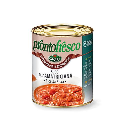 """Sauce """"all'Amatriciana"""" - 800 gr."""