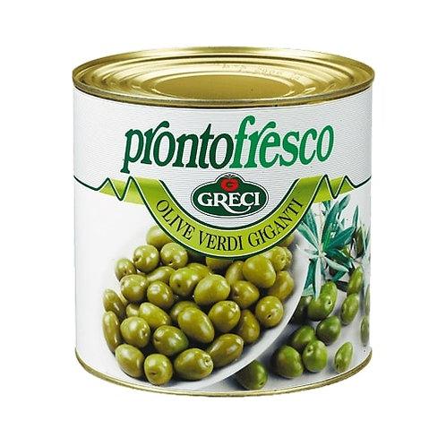 Olives vertes apéritif - 2600 gr.