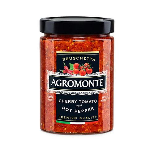 "Bruschetta tomate cerise et piment ""Agromonte"" - 100 gr."