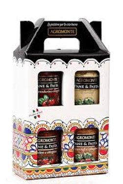 "Gift box ""Agromonte"" -  4 barattoli"