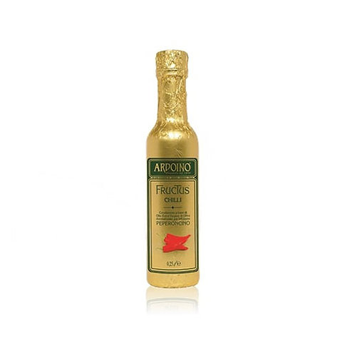 Huile d'olive extra vierge FRUCTUS aromatisée au Piment. Ardoino - 250 ml.