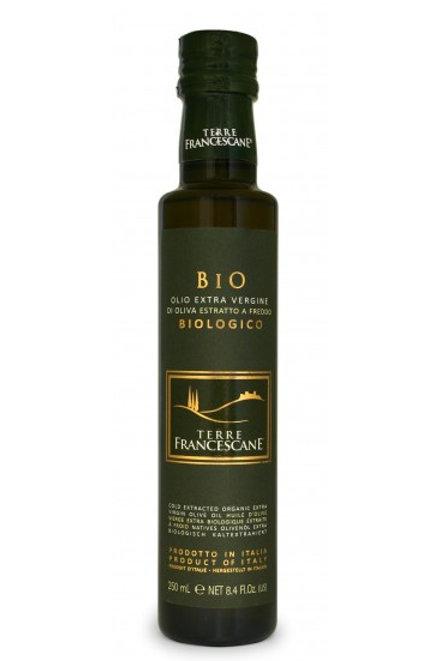 "Olio EVO  ""Terre Francescane"" BIO - 250 ml."