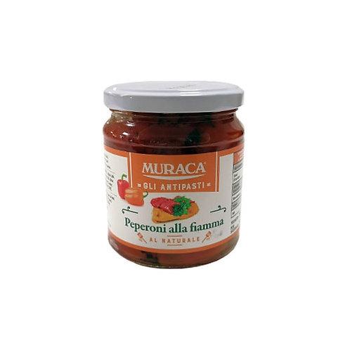 "Poivrons rôtis au naturel ""Muraca"" - 314 ml"