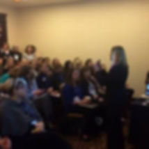 Award winning speaker, Diana B. Thompsn at the Colorado Charter School Conference