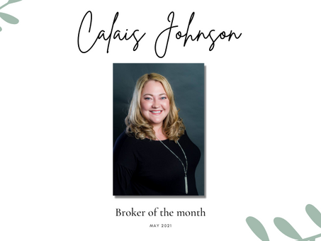 May Broker Of The Month