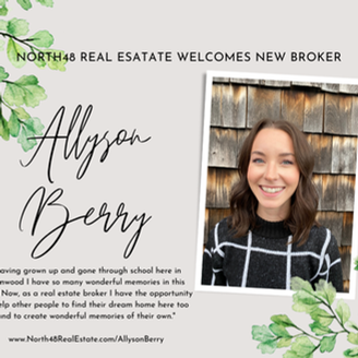 Welcome Allyson Berry!
