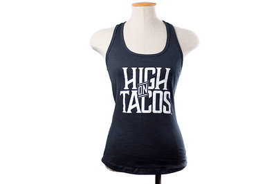 Womens High On Tacos Tank