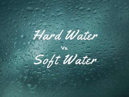 The TYPE of  Water you are using could be costing you money!