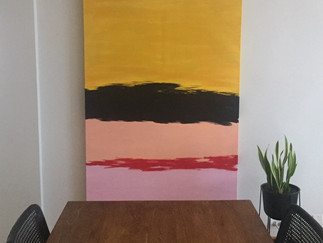 DIY: Large Scale Artwork at Small Scale Prices