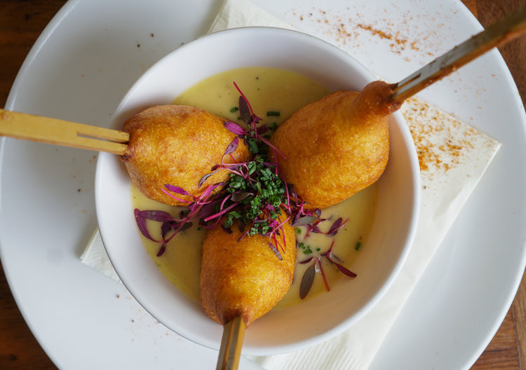 Maryland Crabcake Corndog: photocredit: The Stanton Social