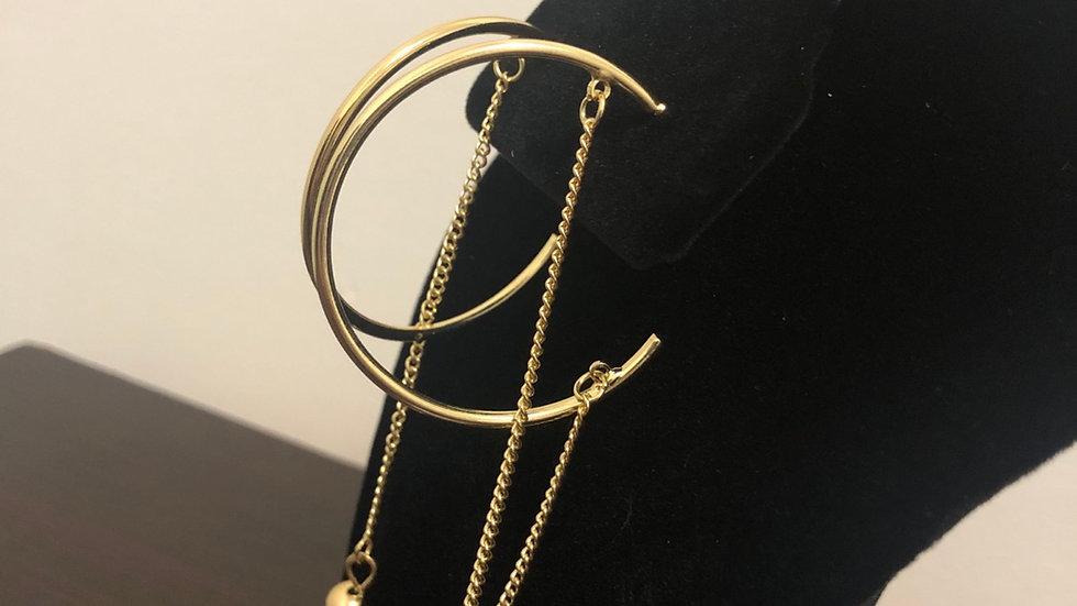 """Crescent"" Earrings"