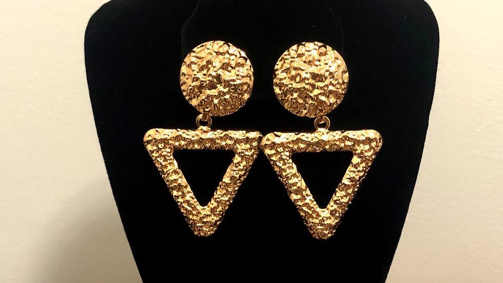 """Pyramid"" Earrings"