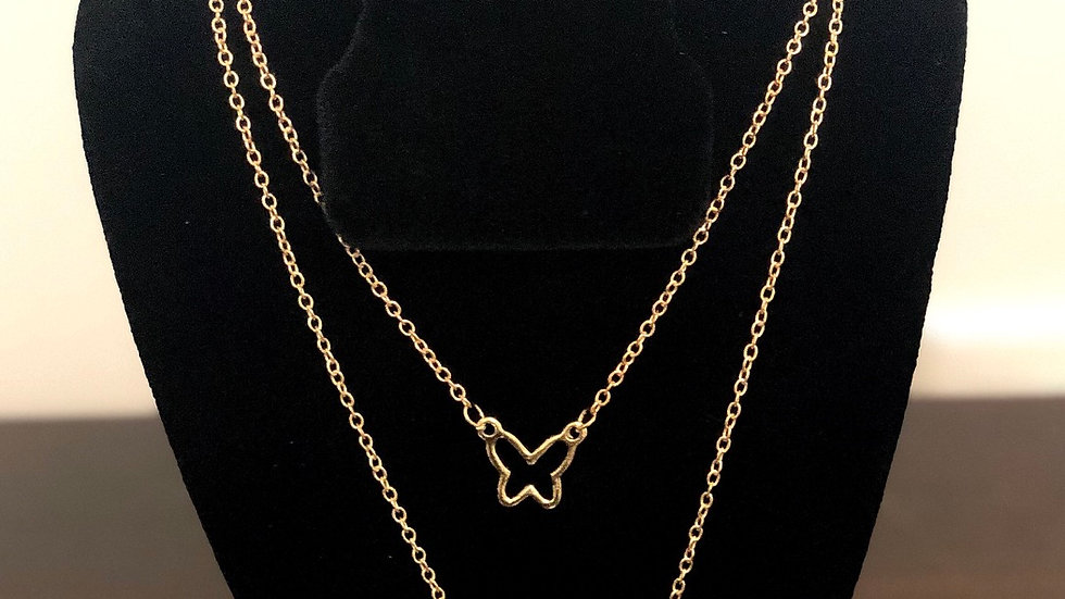 """""""Butterfly"""" Necklace"""
