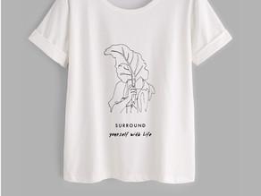 Vegan T-Shirt brand launched