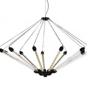 Bekabeling en bouw van een designerlamp