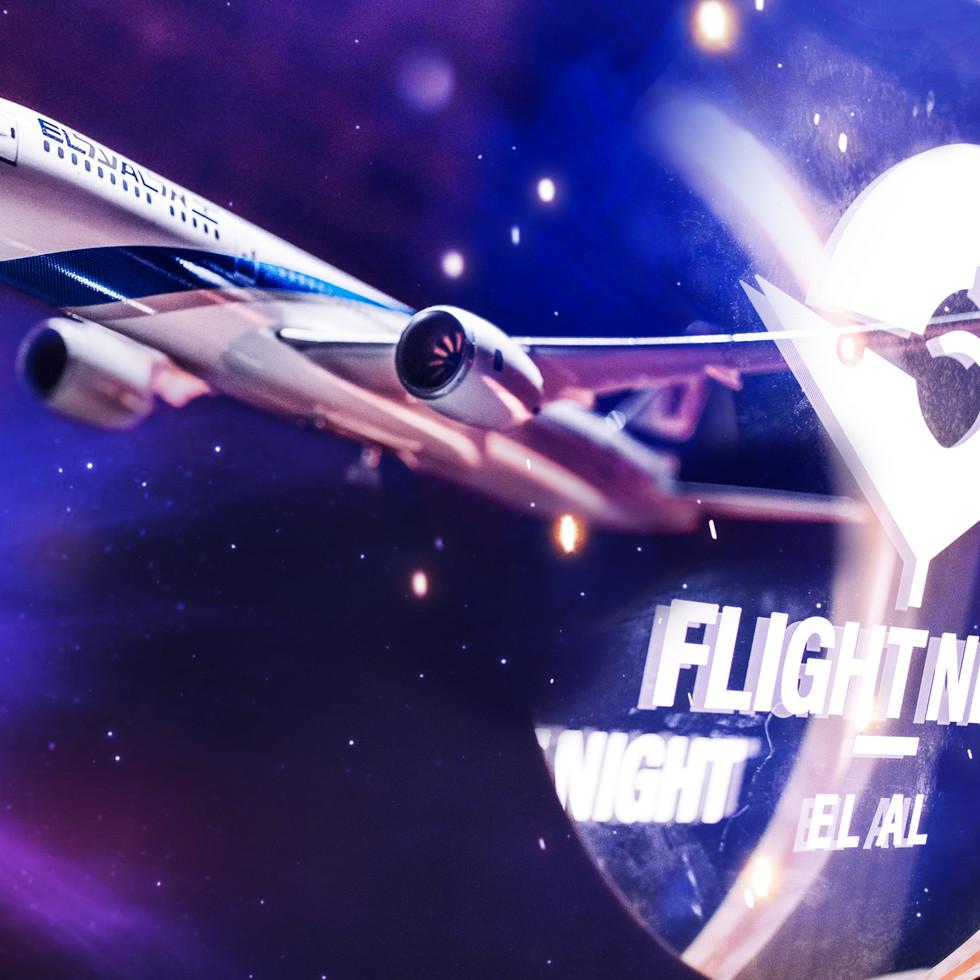 Flight Night % ELAL
