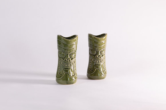 Tiki Green - 2pcs