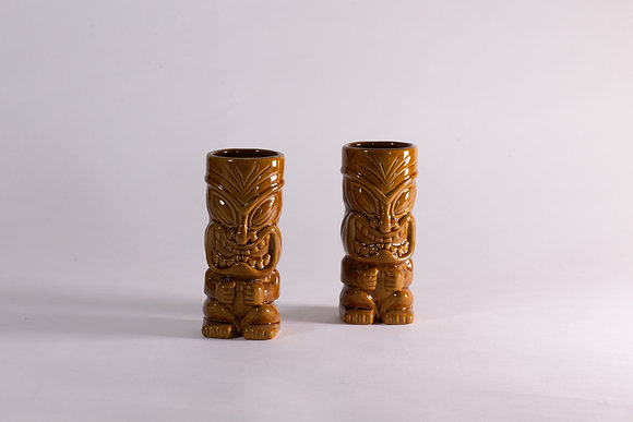 Tiki Brown - 2pcs