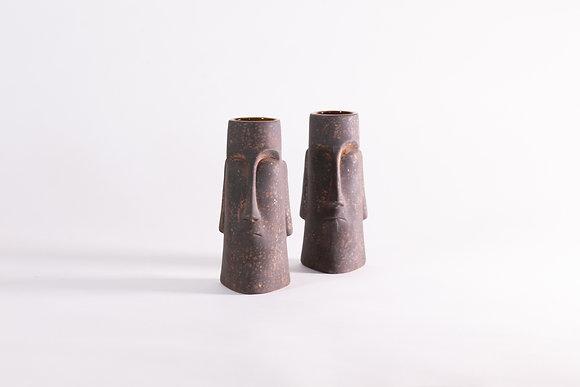 Tiki Moai - 2pcs