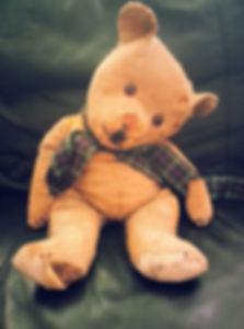 old teddy for repair