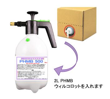 PHMBはウイルコロット