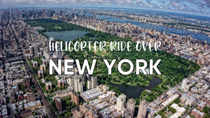 Helicopter Rider Over New York