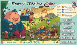 Marché médiéval Chinon