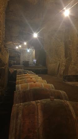 Chinon caves