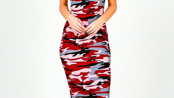 Camo Comfy Dress