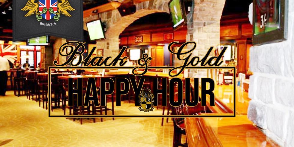 Black & Gold Happy Hour - Eta Eta Lambda of Alpha Phi Alpha Charter week