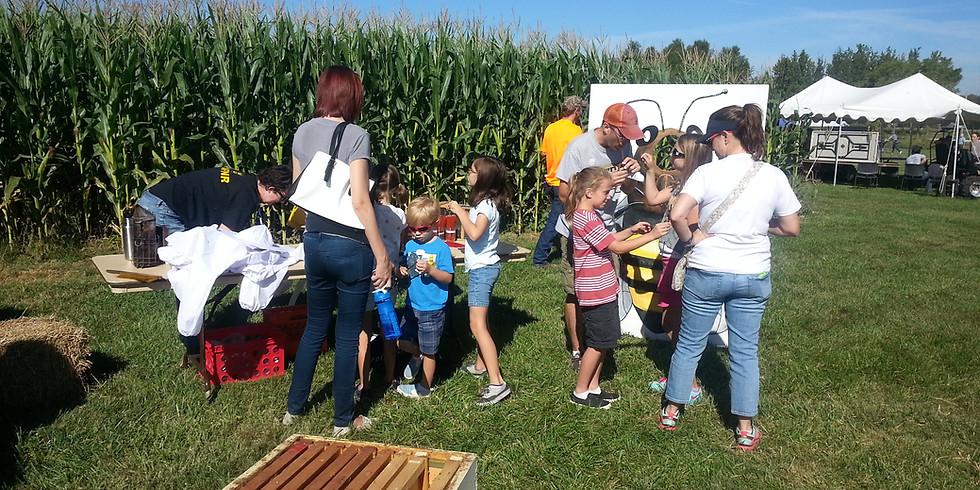 MU South Farm Showcase Bee Booth