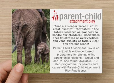 Parent-Child Attachment Play Postcards B