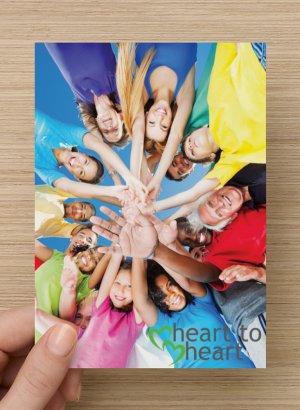 Heart-to-Heart Postcards - Tweens/Teens