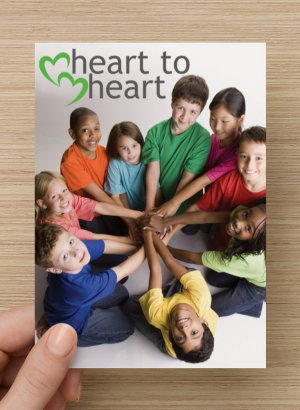 Heart-to-Heart Postcards - Primary Age