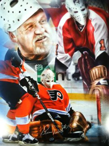 Exclusive Bernie Parent Poster-Now ONLY available through ULTIMATE FAN PACKAGE!