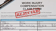 Worker's compensation form rejected. Fraud. Private investigator near me.